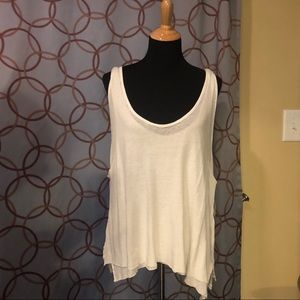 We the Free Ivory Karmen Tank Top Size Large NWT